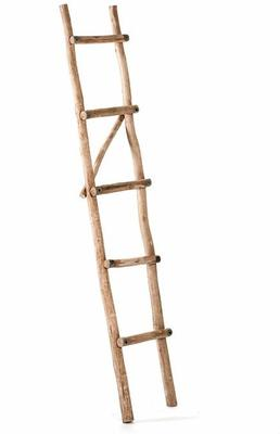 Eucalyptus Ladder Towel Rail image 2