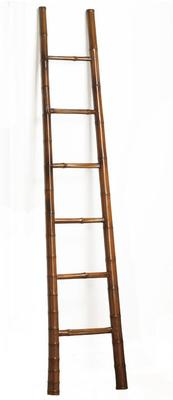 Bamboo Ladder in Warm Elm