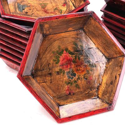 Painted Wooden Tray image 3