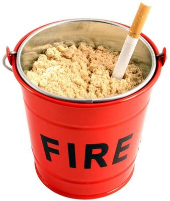 Suck UK Fire Bucket Ashtray [D]