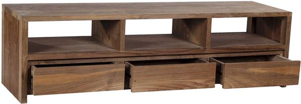 The 'Gerupuk' Reclaimed Teak Wood TV Unit   image 2