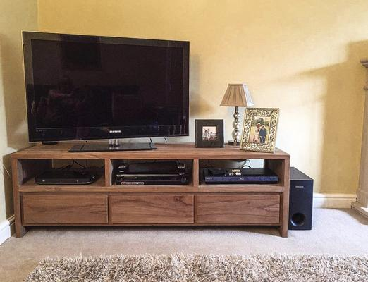 The 'Gerupuk' Reclaimed Teak Wood TV Unit