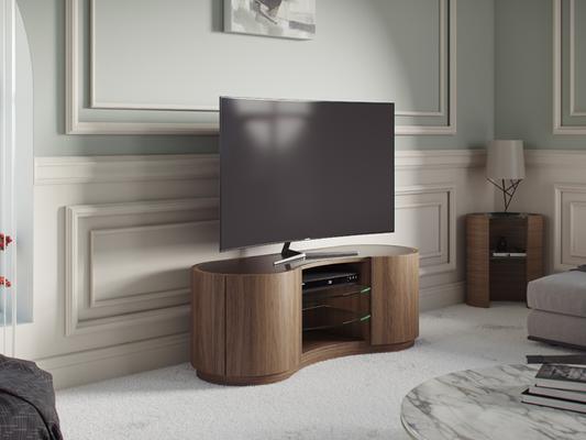 Tom Schneider Swirl TV Media Cabinet image 8