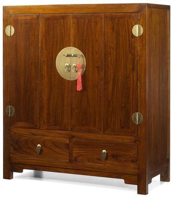 Television Cabinet, Warm Elm