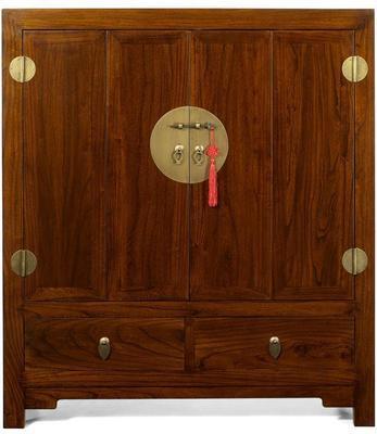 Television Cabinet, Warm Elm image 3