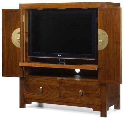 Television Cabinet, Warm Elm image 5