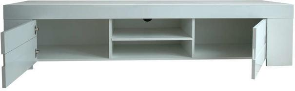 Fano Long TV Unit - Gloss White Finish image 3