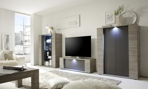 Sidney Collection Small TV Unit with LED Spot image 3