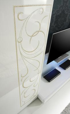Padua TV Stand - White High Gloss Lacquer  image 3