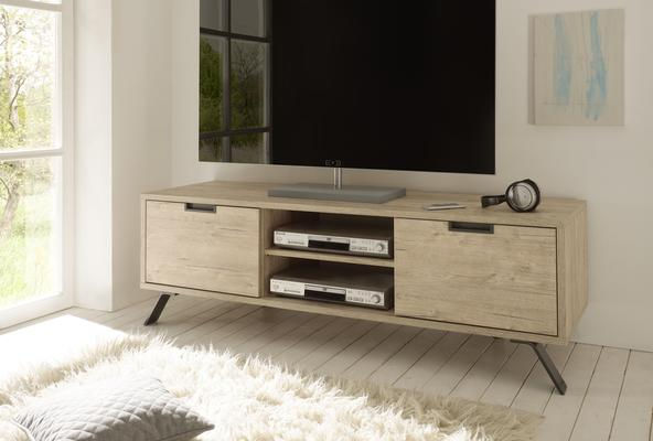 Palma TV Unit - Sherwood Oak Finish