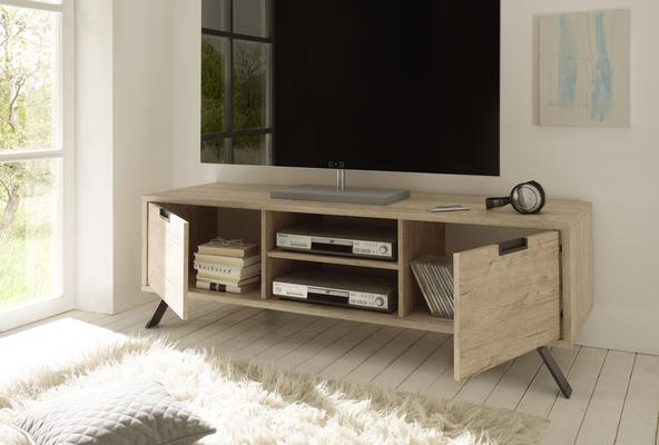 Palma TV Unit - Sherwood Oak Finish  image 2