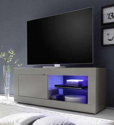 Urbino Collection Small TV Unit INCLUDING LED Spot Light - Matt Beige