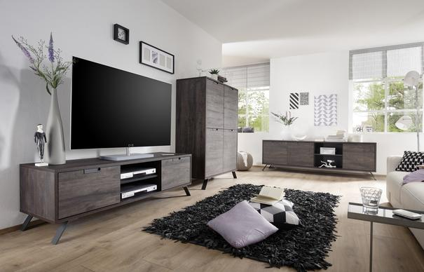 Palma TV Unit - Wenge Finish image 3