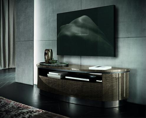 Dune 2 drawer TV unit