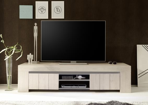 Monza Large TV Unit - Rose Beige Finish