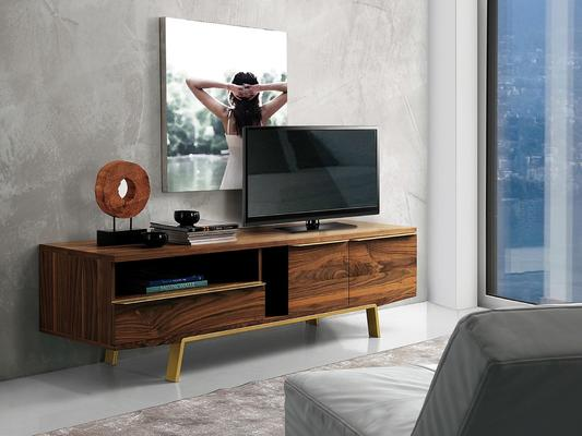 Arco 1 drawer 2 door TV bench image 2