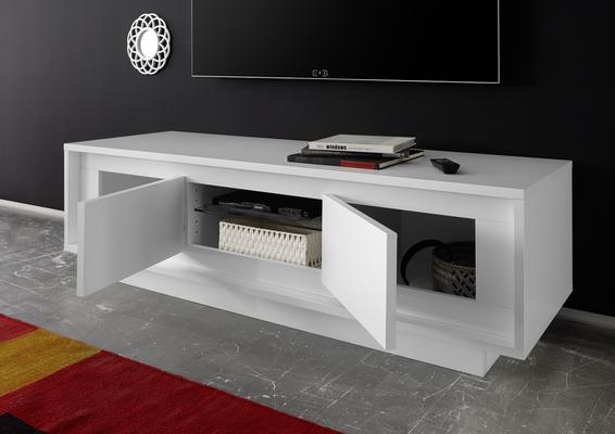 Luna Two Door TV Stand - Matt White image 2