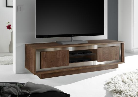 Luna Two Door TV Stand -  Cognac Finish