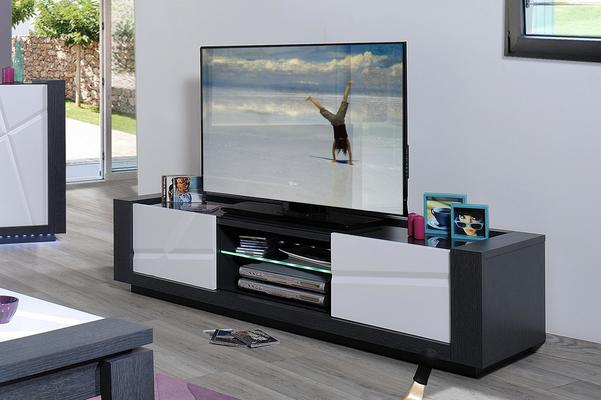 Quartz 2 door TV unit image 5