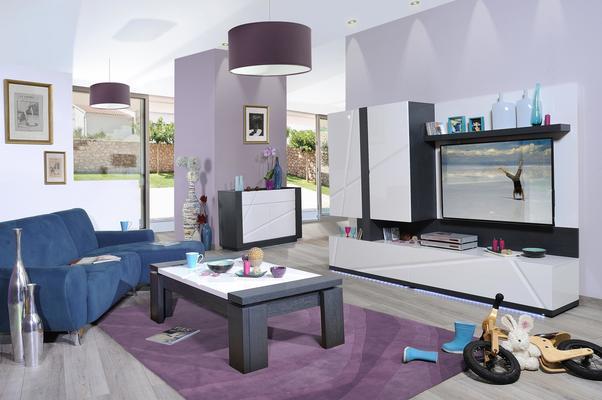 Quartz TV bench image 7