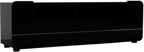 Bump flap door TV unit