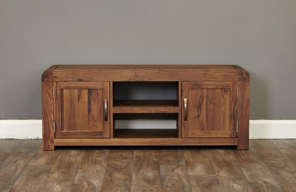 Shiro Walnut Widescreen TV Cabinet image 3