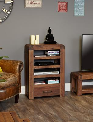 Shiro Walnut Entertainment Unit image 2