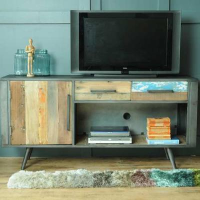 Mariner Media TV Unit Reclaimed Timber