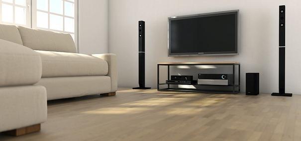 Ertivi 120  TV Stand - Oak and Black Finish image 2