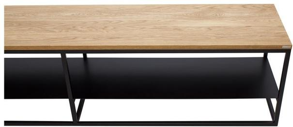 Ertivi 200 TV Stand - Oak and  Black Finish image 2
