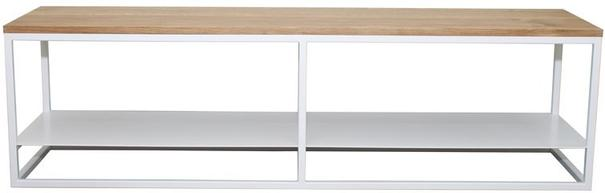 Ertivi 200 TV Stand - Oak and White Finish image 2