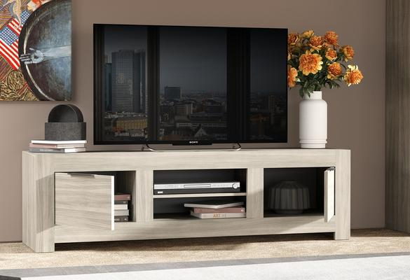 Forli Large TV Cabinet - Caracalla Oak Finish image 2