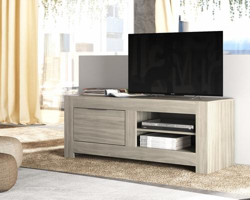 Forli Small TV Cabinet - Light  Oak Finish