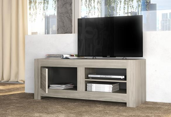 Forli Small TV Cabinet - Light  Oak Finish image 2