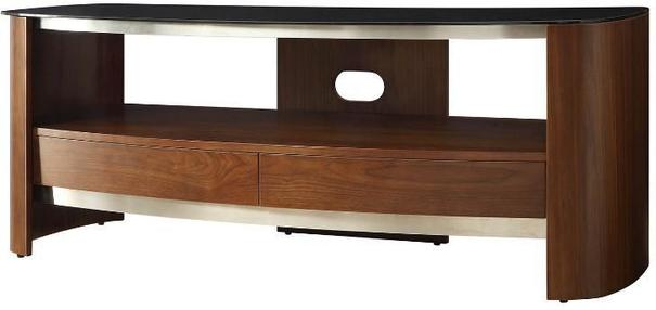 Melbourne Curved TV Stand Walnut JF310