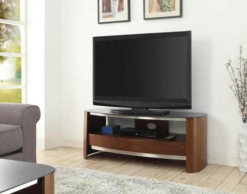 Melbourne Curved TV Stand Walnut JF310 image 4