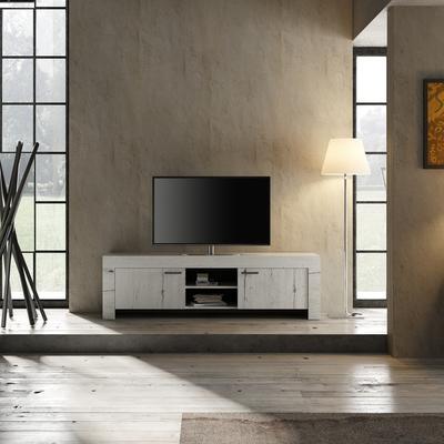 Livorno Large TV Unit - White Oak Finish image 2
