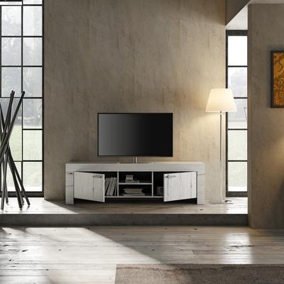 Livorno Large TV Unit - White Oak Finish image 3