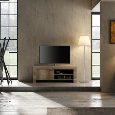 Livorno Small TV Unit - San Remo Oak Finish image 2