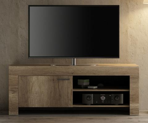 Livorno Small TV Unit - San Remo Oak Finish