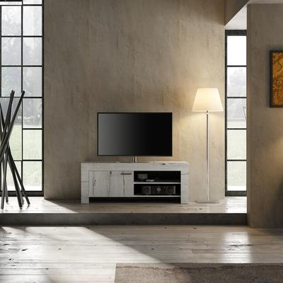 Livorno Small TV Unit - White Oak Finish  image 2