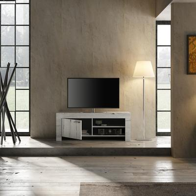 Livorno Small TV Unit - White Oak Finish  image 3