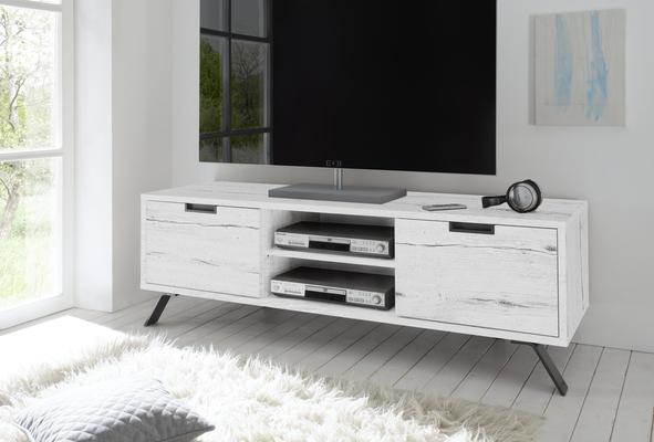 Palma TV Unit - White Oak finish
