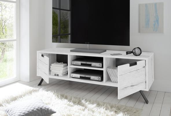 Palma TV Unit - White Oak finish image 2