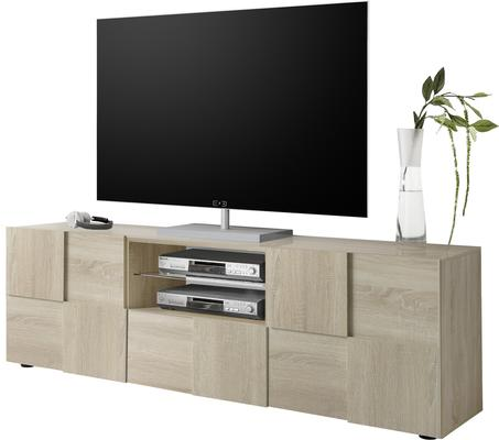 Treviso Large TV Unit - Samoa Oak