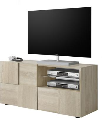 Treviso Small TV Unit - Samoa Oak