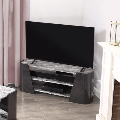 Sorrento TV Stand Dark Grey Slate High Gloss - JF906 image 5
