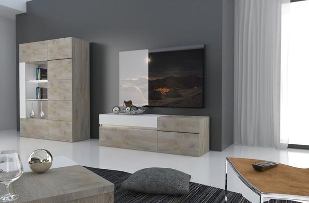 Brio 1 door 1 drawer TV unit image 5