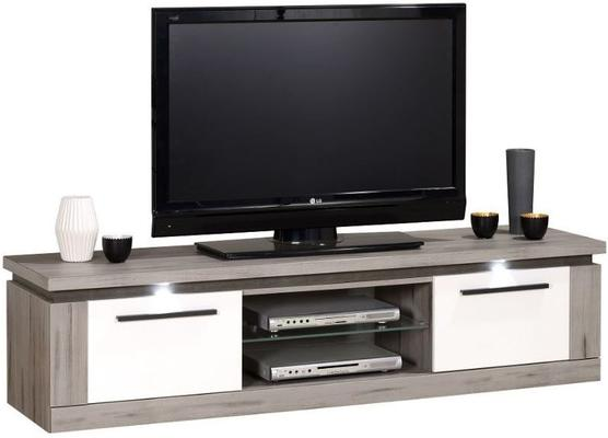Oslo 2 door TV unit (with lighting) image 2