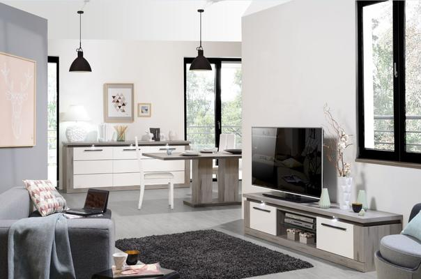Oslo 2 door TV unit (with lighting) image 9